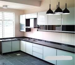 kitchen cabinet design simple ktc 67 16psqf high gloss color mixed acrylic kitchen cabinet