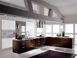kitchen brown dining tablesblack bar stool white pendant light