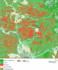 Forest Park Portland Map by Map Of Clearcutting In The Central Cascades Sightline Institute