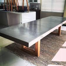diy concrete dining table diy concrete dining table concrete dining table top outdoor diy pete