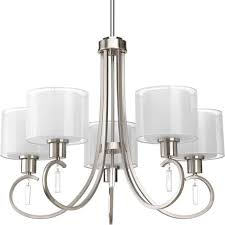 brushed nickel dining room light fixtures chandeliers design awesome dining room light fixture off center