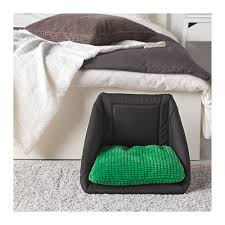 lurvig cat bed with pad ikea