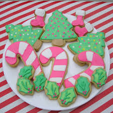 Decorated Christmas Tree Sugar Cookies by Decorated Christmas Sugar Cookies Christmas Lights Decoration