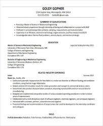 Mechanical Resume Format Pdf Resume Format For Fresher 6 Resume Format For Fresher 6 Resume