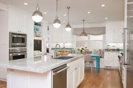 Above Kitchen Island Lighting Lighting Large Hicks Pendants Above The Kitchen Island 55