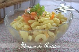 cuisine recette rapide salade de pates recette facile et rapide amour de cuisine