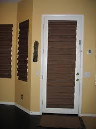 Woven Wood Roman Shades On Arched Window French Door Wood Handballtunisie Org
