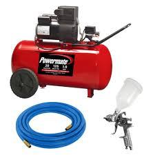 powermate 20 gal portable air compressor kit pp1982012 kit the
