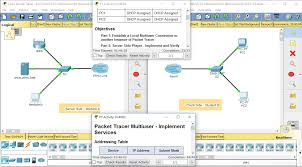 10 3 1 4 10 4 1 3 packet tracer multiuser implement services