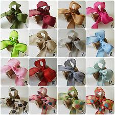 wire edged ribbon bow wire edged ribbons ribboncraft ebay