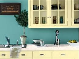 Kitchen Wall Paint Color Ideas Colorful Kitchens Gray Kitchen Cabinets Blue Kitchen Paint Green
