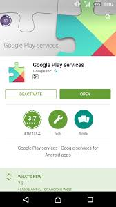 apps wont on android sony xperia z play services won t run unless you update