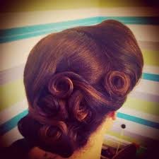 hair uk best 25 victory rolls ideas on vintage hair victory
