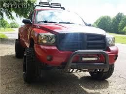 2006 dodge dakota lift wheel offset 2006 dodge dakota aggressive 3 5 leveling kit