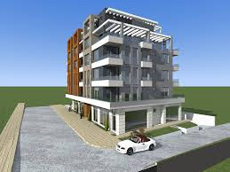 residential building with shops and underground parking garage residential building with shops and underground parking garage