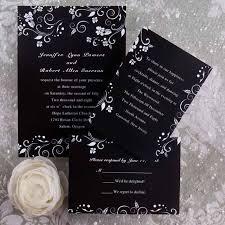 black wedding invitations cheap winter wedding invitations wedding invitations online cheap