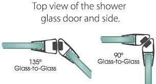 buy frameless shower door seal ds9001 shower glass door seals