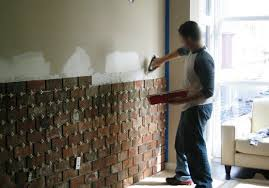 diy home interior interior brick wall installation diy home interiors