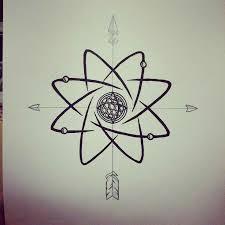 atomo dibujo tatoo imagen relacionada tatuajes pinterest tattoo tatoo and tatt