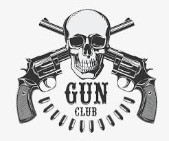 skull and guns arms gun png image and clipart for free