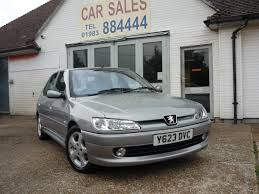 used peugeot car dealers used 2001 peugeot 306 meridian hdi 5dr for sale in ryde isle of