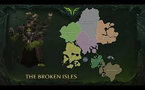 World Of Warcraft Map by World Of Warcraft Legion Announcement Badcoyotefunky