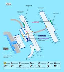 Map Of Chicago O Hare Airport by Airport Guide International At The Airport In Flight