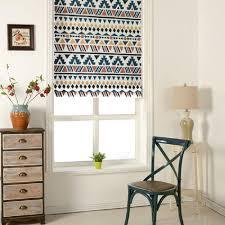 fix washable roman window shades flat fold native tapestry