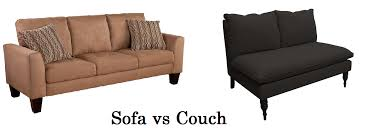 Couch Vs Sofa | couch vs sofa what s the difference nest and home blog