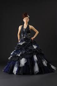 wedding dress blue navy blue bridal gown wedding dress