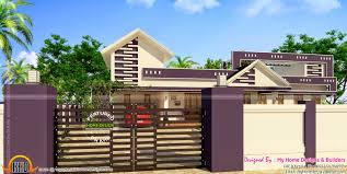 Kerala Home Design Single Floor Low Cost Beautiful One Storied Home Kerala Home Design And Floor Plans
