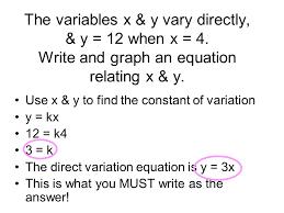 direct inverse u0026 joint variation section 2 5 direct variation 2
