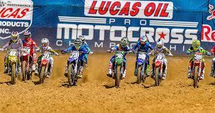 lucas oil pro motocross schedule 2018 lucas oil pro motocross chionship schedule