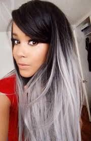 black grey hair 20 best silver gray hair 16 jpg25 new grey hair color combinations