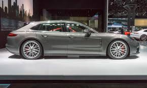 porsche panamera silver 2018 2017 new york auto show photo highlights autonxt