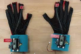 these gloves translate sign language into text or speech mental