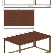 Standard Kitchen Table Height by Interesting Standard Coffee Table Dimensions Pictures Ideas Tikspor