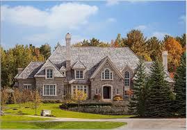 tudor style luxurious tudor style architecture idea with brown stone wall
