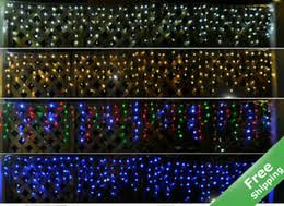 discount solar power icicle lights 2017 solar power icicle