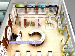 Interior Store Design And Layout 3d Rendering Jewelry Shop Design Jewellery Display Furniture