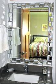 Unique Bathroom Mirror Frame Ideas Diy Mirror Frame Ideas Piercingfreund Club