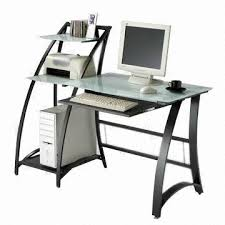 Metal And Glass Computer Desks Computer Desk Glass Desk Top Metal Frame Global Sources