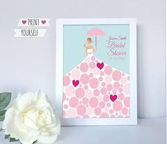 bridal shower guest book bridal shower guest book wedding umbrella printable pdf