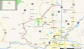 Canyon City Colorado Map by Colorado State Highway 119 Wikipedia
