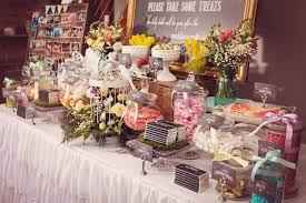 food tables at wedding reception sweeten up your wedding reception dessert tables and other food