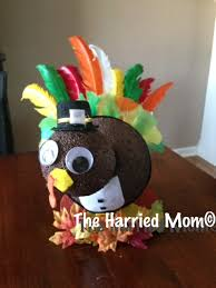 foam turkey craft giving thanks for simple centerpieces creating a easy and