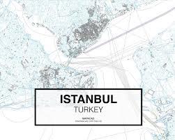 Istanbul Turkey Map Download Istanbul Dwg Mapacad