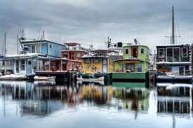 Sleepless In Seattle Houseboat by Seattle Boat Houses Pin It 1 Like Image Ollie U0027s Mural