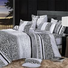 Linen Covers Gray Print Pillows White Walls Grey Animal Print Room Cotton Pillow Trundle