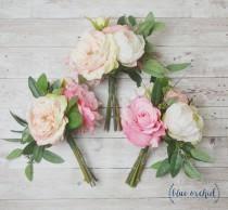 Wedding Flowers Greenery Silk Hochzeits Bouquet 2 Weddbook
